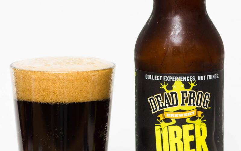Dead Frog Brewery – Uber Nutter Imperial Nut Brown Ale
