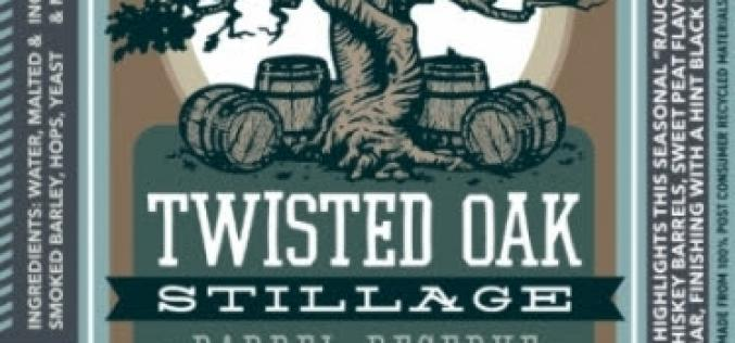 Phillips Brewing Launches Twisted Oak Stillage Barrel Aged Rauch