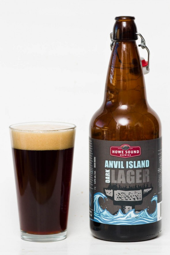 Howe Sound Brewing Anvil Island Dark Lager