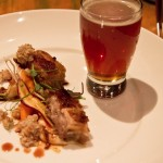 Wild Boar Belly with Steamworks Imperial Red Ale