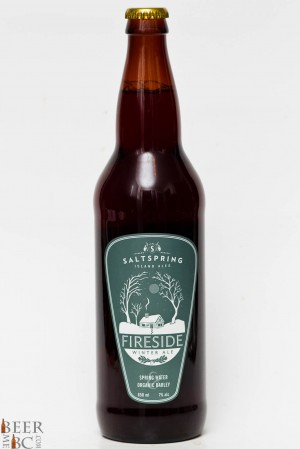 Saltspring Island Brewing Fireside Stout Review