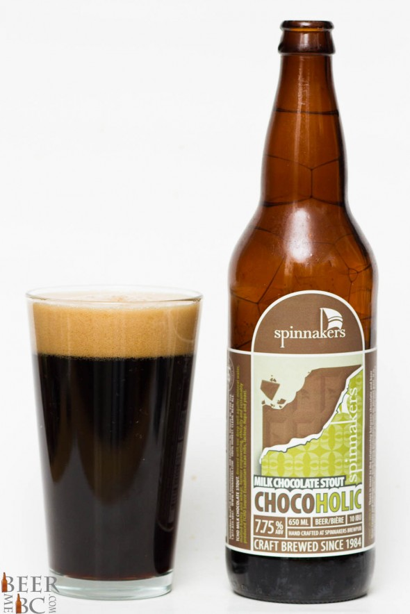Spinnakers Chocoholic Milk Stout Review