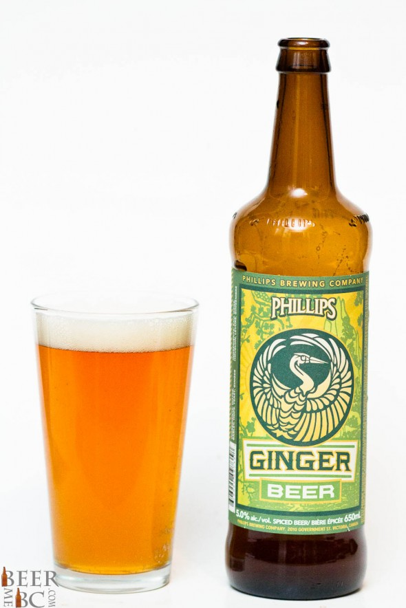Phillips Ginger Beer Review