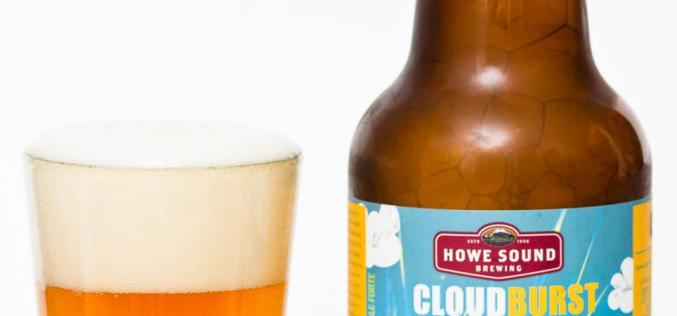 Howe Sound Brewing – Cloudburst Lemongrass White IPA