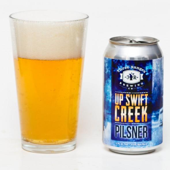 Three Ranges Up Swift Creek Pilsner Review