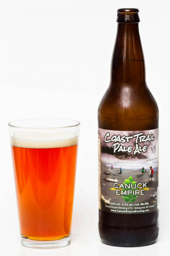 Canuck Empire Coast Trail Pale Ale Review