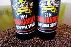 Dead Frog Commander Imperial Stout is Back and Improved in 2014