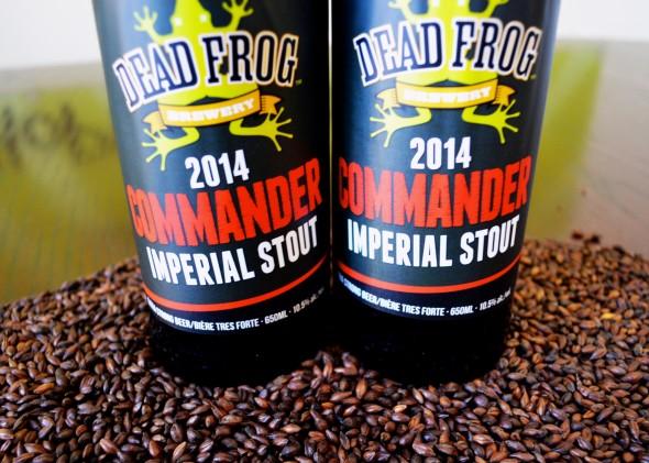 Dead Frog 2014 Commander Imperial Stout