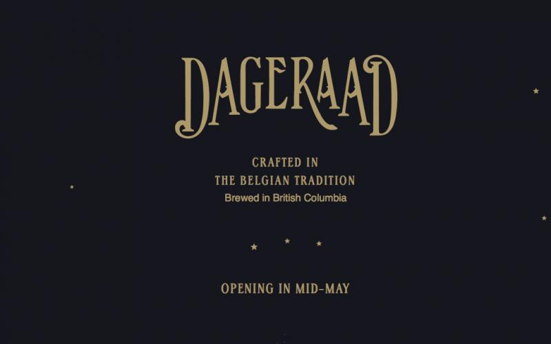 Dageraad Brewing to be B.C.'s first microbrewery dedicated exclusively to Belgian-style ales