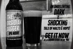 Dead Frog Releases the Obsidian Dagger IPA Noire