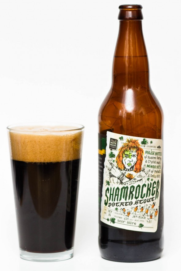 Granville Island Shamrocker Potato Stout Review