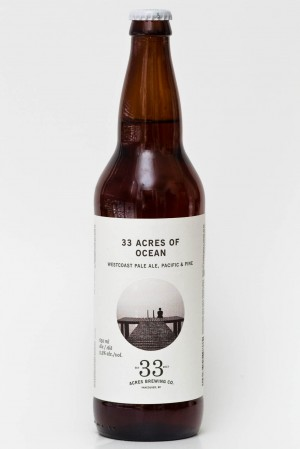 33 Acres of Ocean Westcoast Pale Ale Review