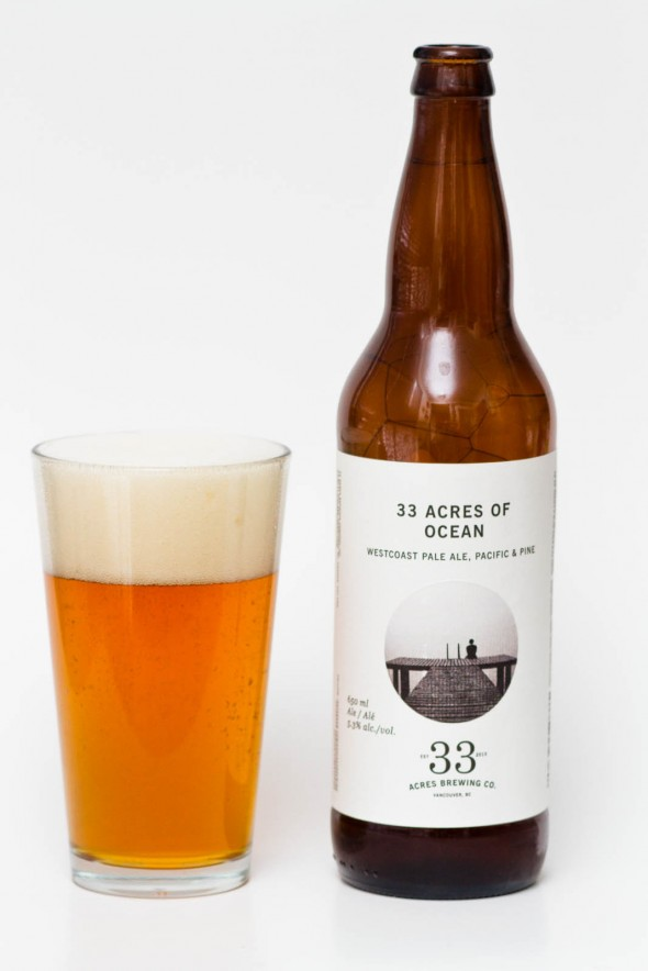33 Acrews of Ocean Westcoast Pale Ale Review