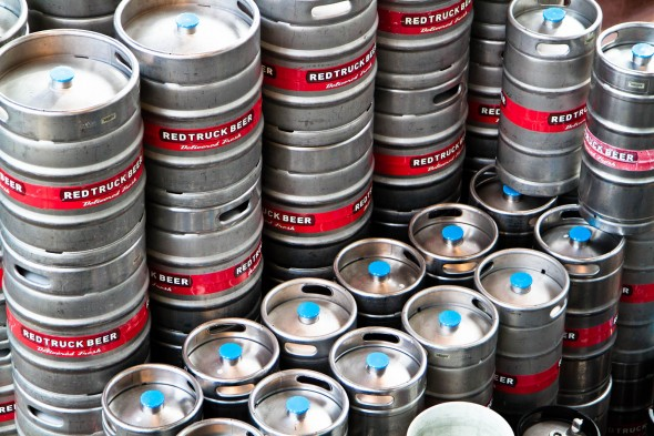 Red Truck Beer Kegs