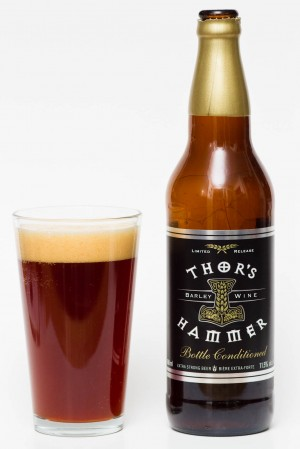 Central City Brewers & Distillers - 2014 Thor's Hammer Barley Wine Review