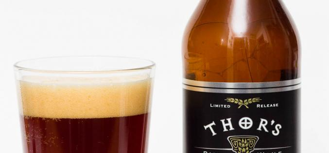 Central City Brewing Co. – Thor's Hammer Barley Wine (2014)