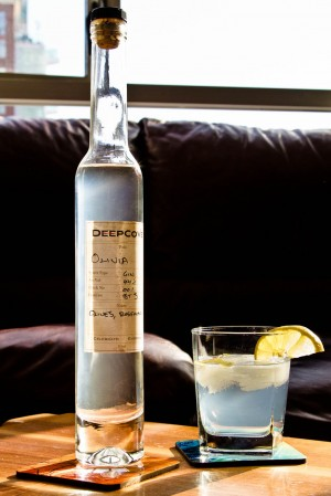 Deep Cove Olivia Gin & Tonic (easy on the tonic)