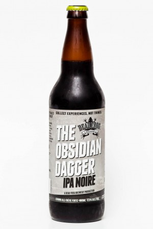 Dead Frog Brewery - The Obsidian Dagger IPA Noire Review