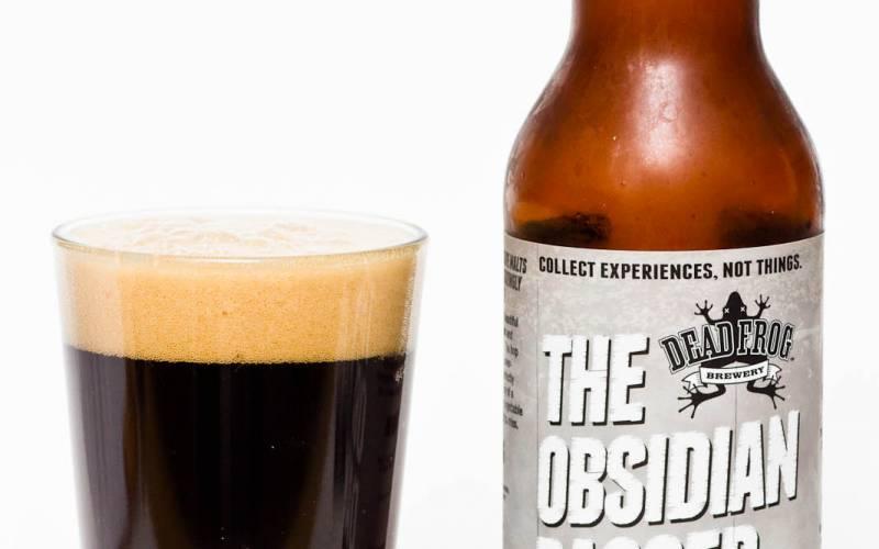 Dead Frog Brewery – Obsidian Dagger IPA Noire