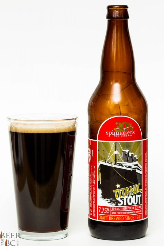Spinnakers Titanic Stout Review