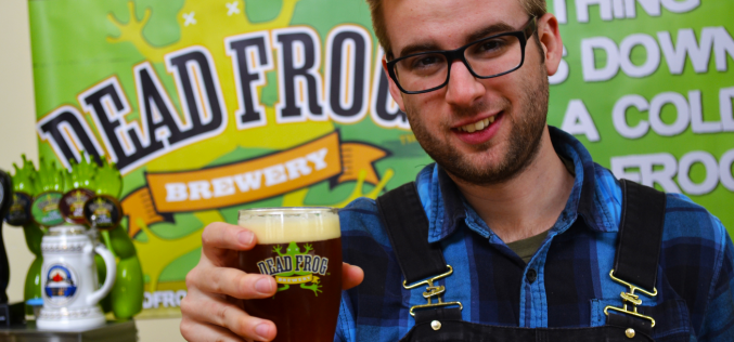 Dead Frog Brewery Promotes Nicholas Fengler to Head Brewer