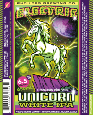 Phillips Electric Unicorn White IPA Release