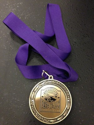 Okanagan Fest of Ale Award medal