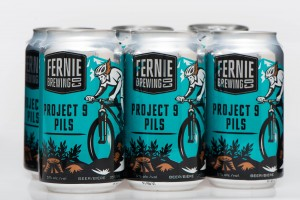 Fernie Brewing Project 9 Pilsner