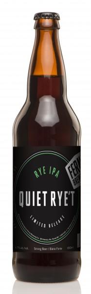 Fernie Brewing Quiet Rye't Rye IPA