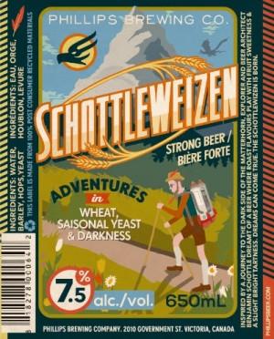 Phillips Brewery Launches Schottleweizen, A New Beer Adventure in Darkness