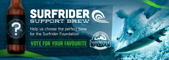 Vancouver Island Brewery Surfrider Benefit Brew