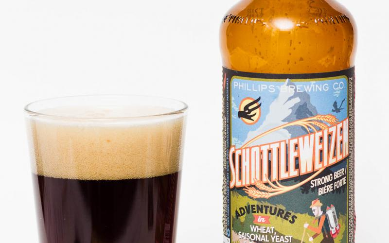 Phillips Brewing Co. – Schottleweizen Dark Saison