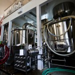 The Longwood three vessel brewing system