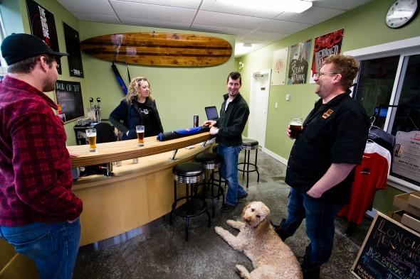 Longwood Brewery Tasting Room