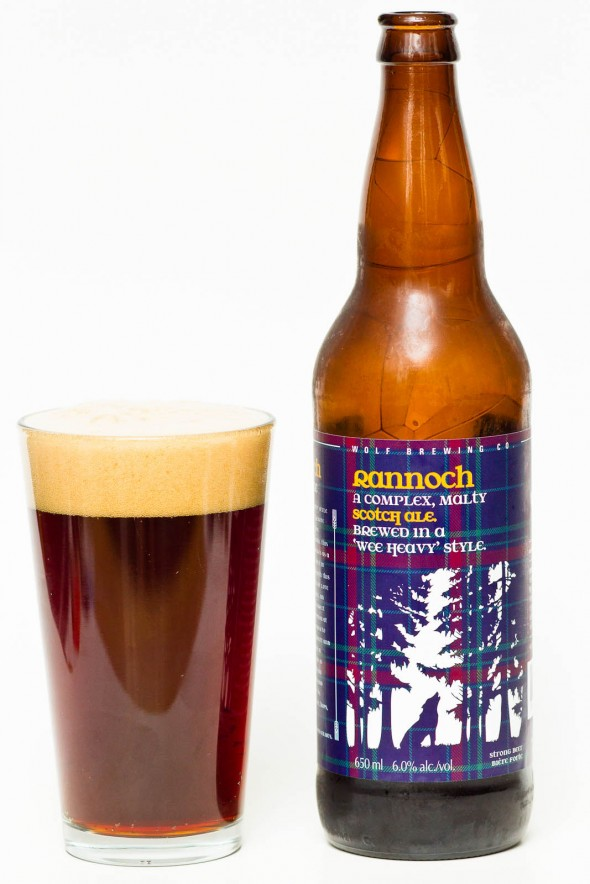 Wolf Brewing Wee Heavy Scotch Ale Review