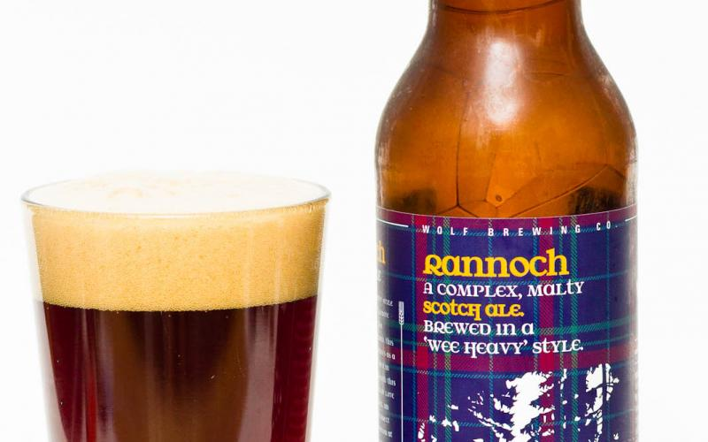 Wolf Brewing Co. – Rannoch 'Wee Heavy' Scotch Ale