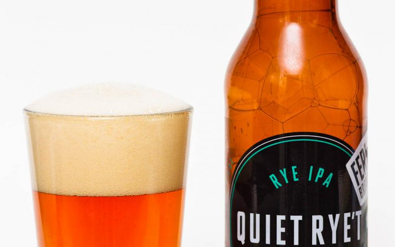 Fernie Brewing Co. – Quiet Rye't Rye IPA