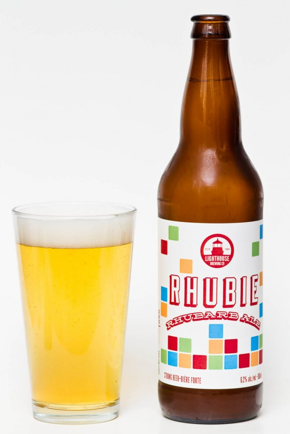 Lighthouse Brewing Rhubie Rhubarb Ale