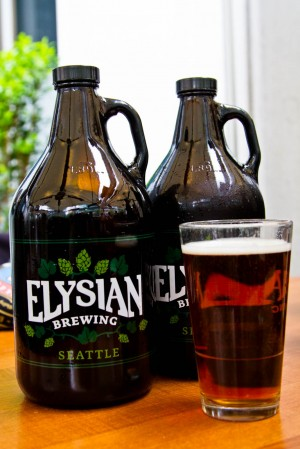 Central City, Elysian and Joey Collaboration I5 Ale