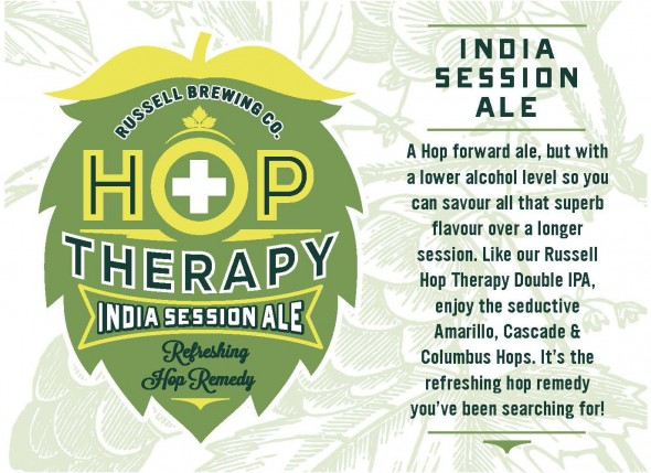 Russell Brewing Hop Therapy India Session Ale