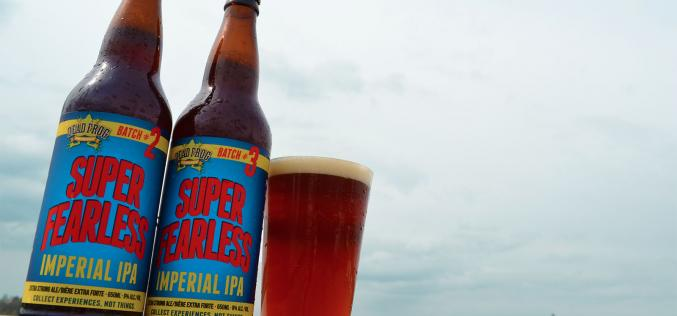 The Super Fearless Imperial IPA has Arrived from Dead Frog Brewing