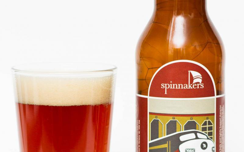 Spinnakers Brewpub – Round House Irish Red Ale