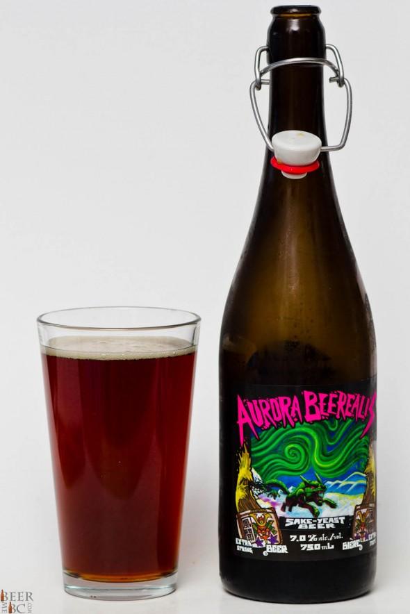 Scandal Brewing Aurora Beerialis Sake Yeast Beer Review