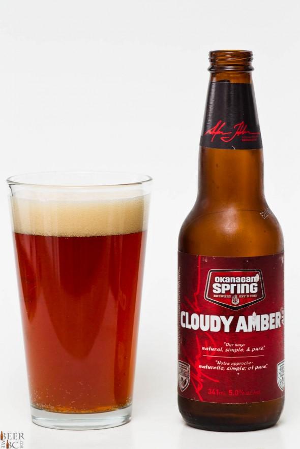 Okanagan Spring Cloudy Amber Ale Review