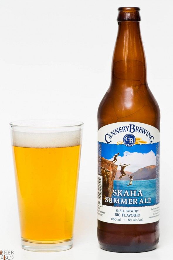Cannery Brewing Skaha Summer Ale Review
