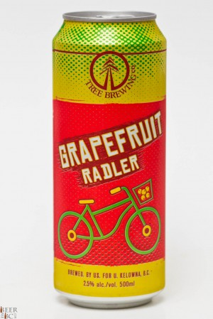 Tree Brewing Grapefruit Radler Review