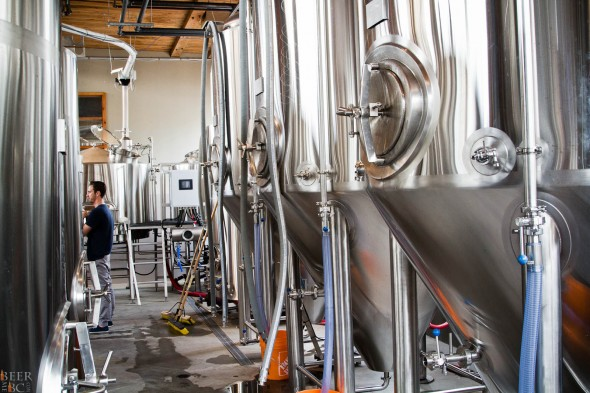 Postmark Brewing Tanks