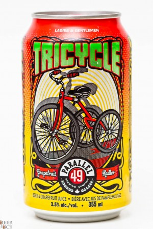 Parallel 49 Brewery Tricycle Grapefruit Radler Review
