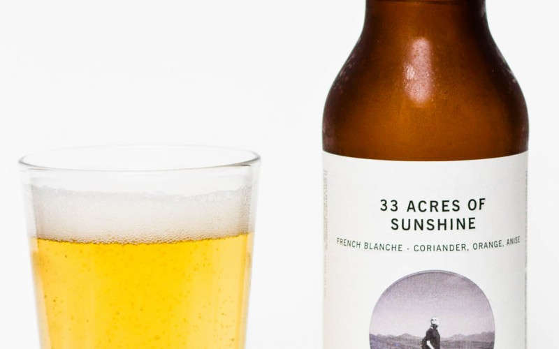 33 Acres Brewing Co. – 33 Acres of Sunshine French Blanche