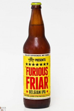 Dead Frog Brewery Furious Friar Belgian IPA Review